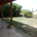 spazio antistante veranda
